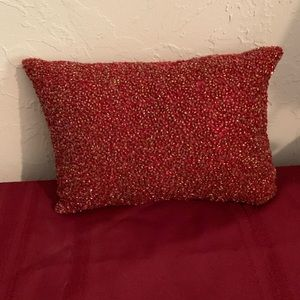 Red Accent Pillow